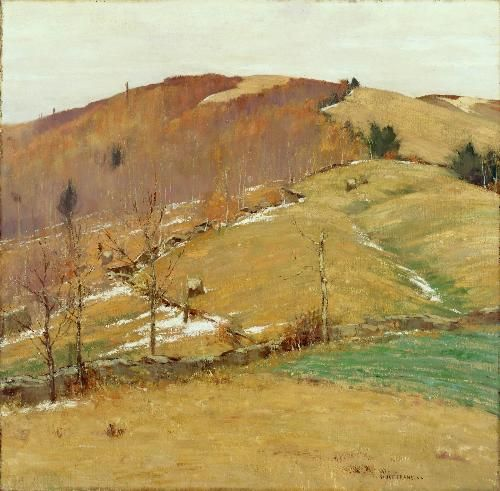 Bruce Crane - November Hills