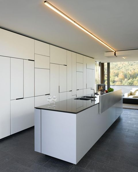 House B Wald Coolboom Modern Kitchen Design Minimalist Kitchen Kitchen Cabinetry