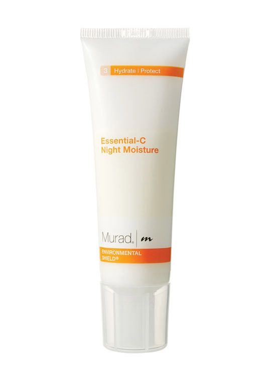 Essential-C Night Moisture... Vitamin C is the best for the face, especially while you sleep!