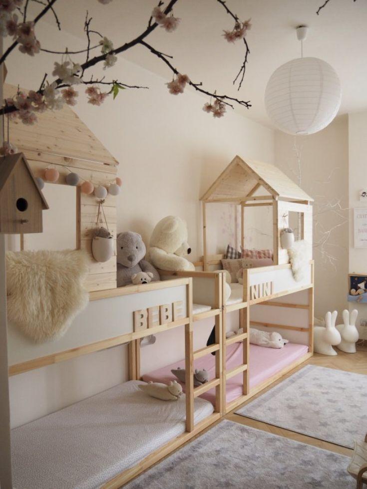 Mommo-Design: 15 IKEA KURA HACKS - #Hacks #Ikea #kaminzimmer #Kura #MommoDesign #ikeakinderzimmer