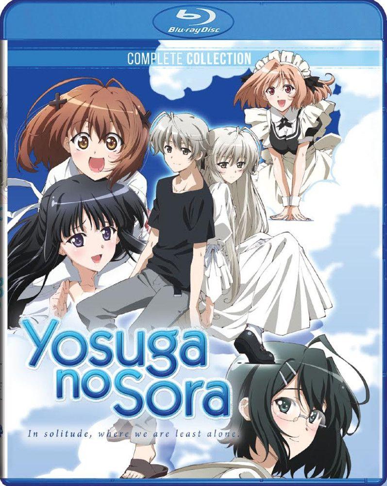 Yosuga no Sora Bluray No sora, Yosuga y Anime japones