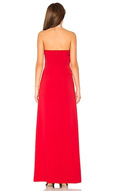 341e759a714 Strapless Ruched Side Dress Halston Heritage  263 Halston Heritage