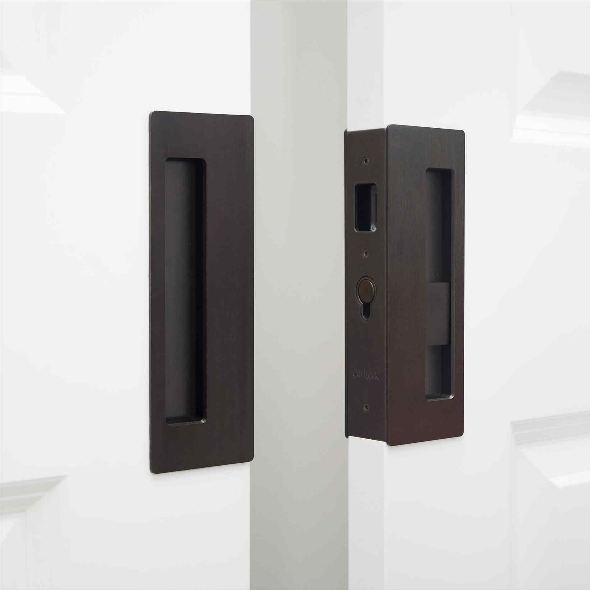 Genial Deadbolt Key To Home Security Angieus List Linnea Pl Privacy Pocket Door  Lock With Ada Turnpiece Youtube Linnea Double Door Lock Set