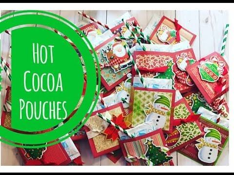 SALE Christmas Hot Chocolate Cocoa Party Treat by KissedLinen |Hot Chocolate Treat Bags