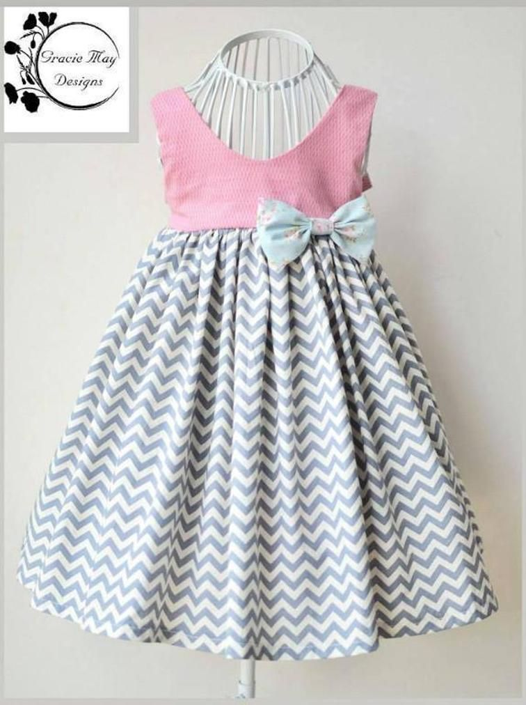 Gracelyn Dress PDF Pattern Size 2 to 6 | بچهگانه | Pinterest | Moda ...