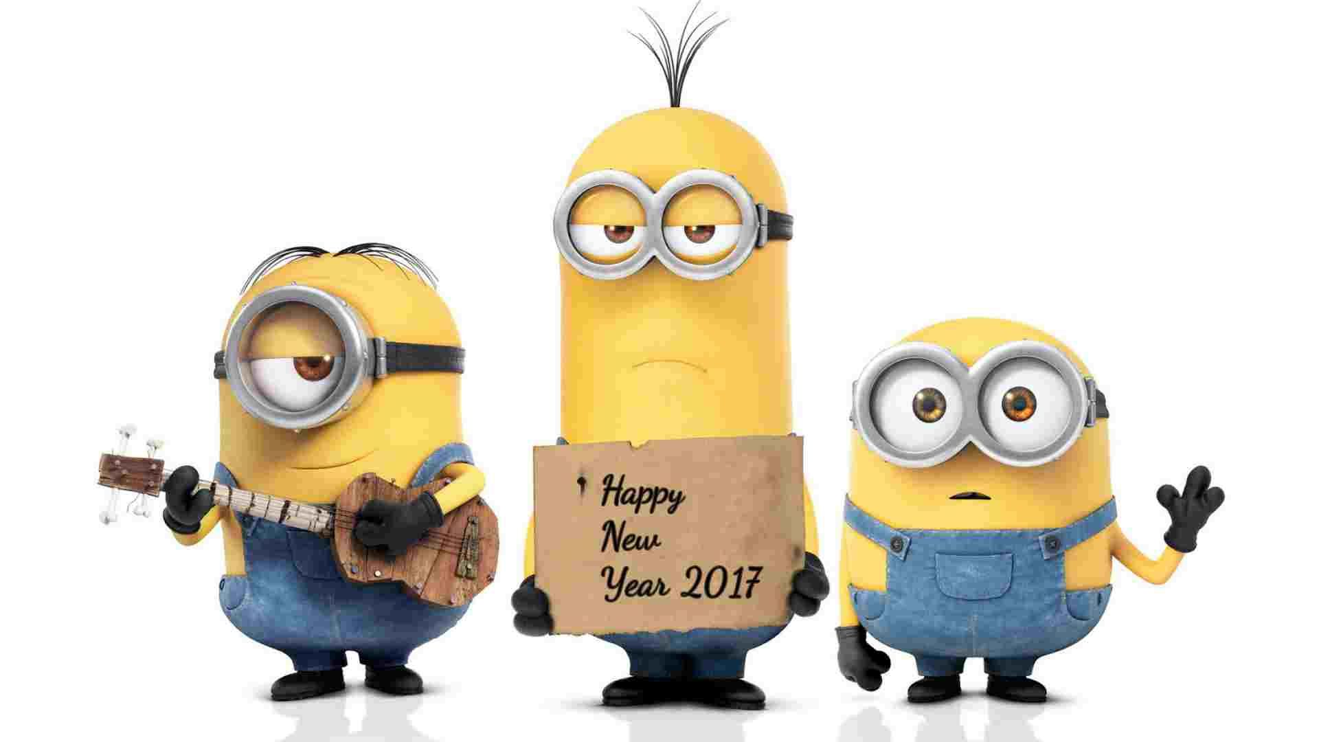 New Year Images 2017 · Funny MinionMinions BobMinions ImagesMinions  Despicable MeMinions QuotesMinion ...