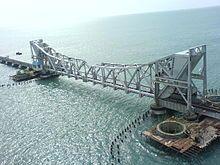 Pamban Bridge - Wikipedia, the free encyclopedia