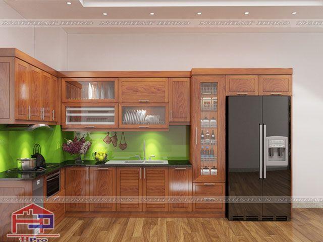 Chất liệu tủ bếp hiện đại