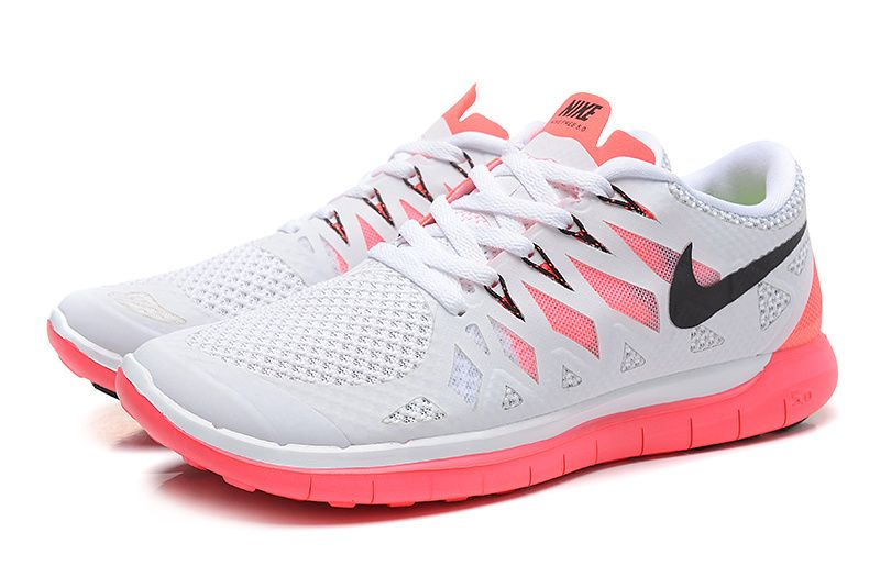 3afbc05646d285 Cheap Women Nike Free 2014 - Most Popular Nike Women Free 2014 White Grey  Red Black Running Shoes Oultet