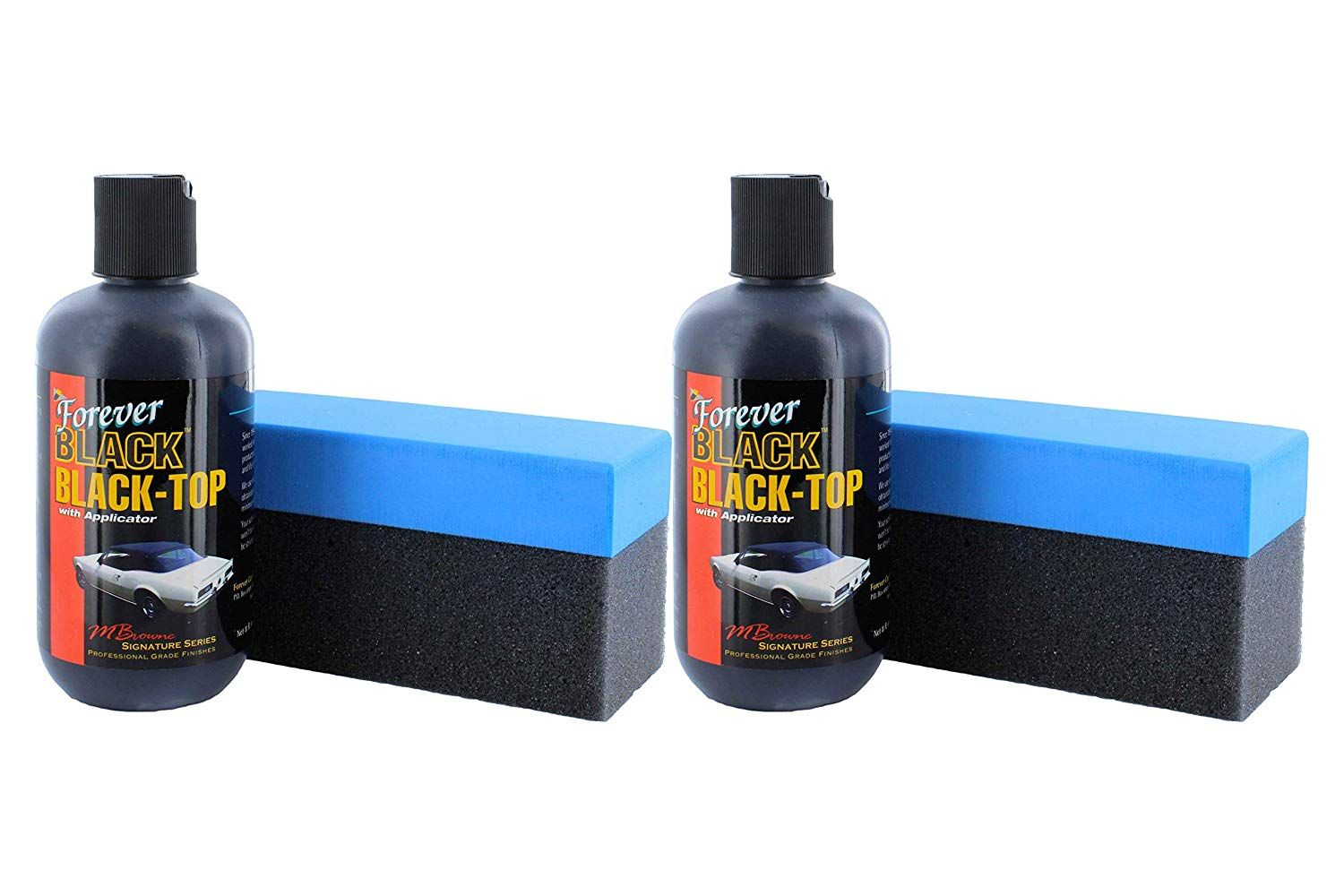 Forever Car Care Products FB813 BLACK Black Top Gel and