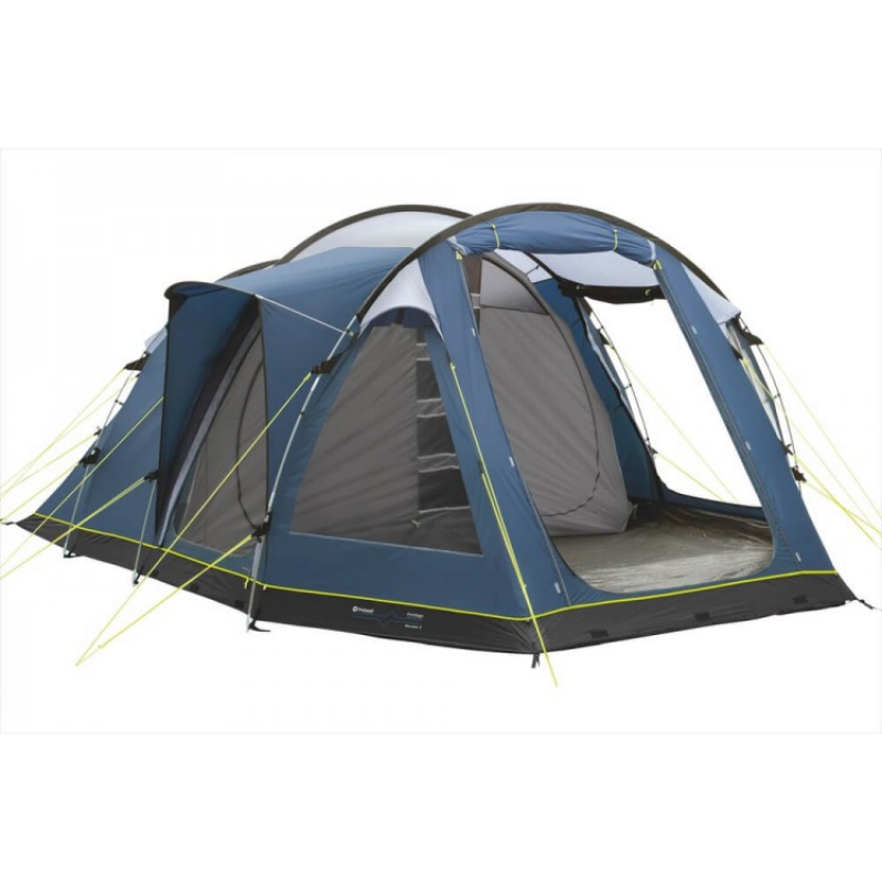 A Classic Outwell Family Camping Tent Design The Impressive Outwell Nevada 5 Sleeps Five In Two Family Tent Camping Cold Weather Tents Best Tents For Camping