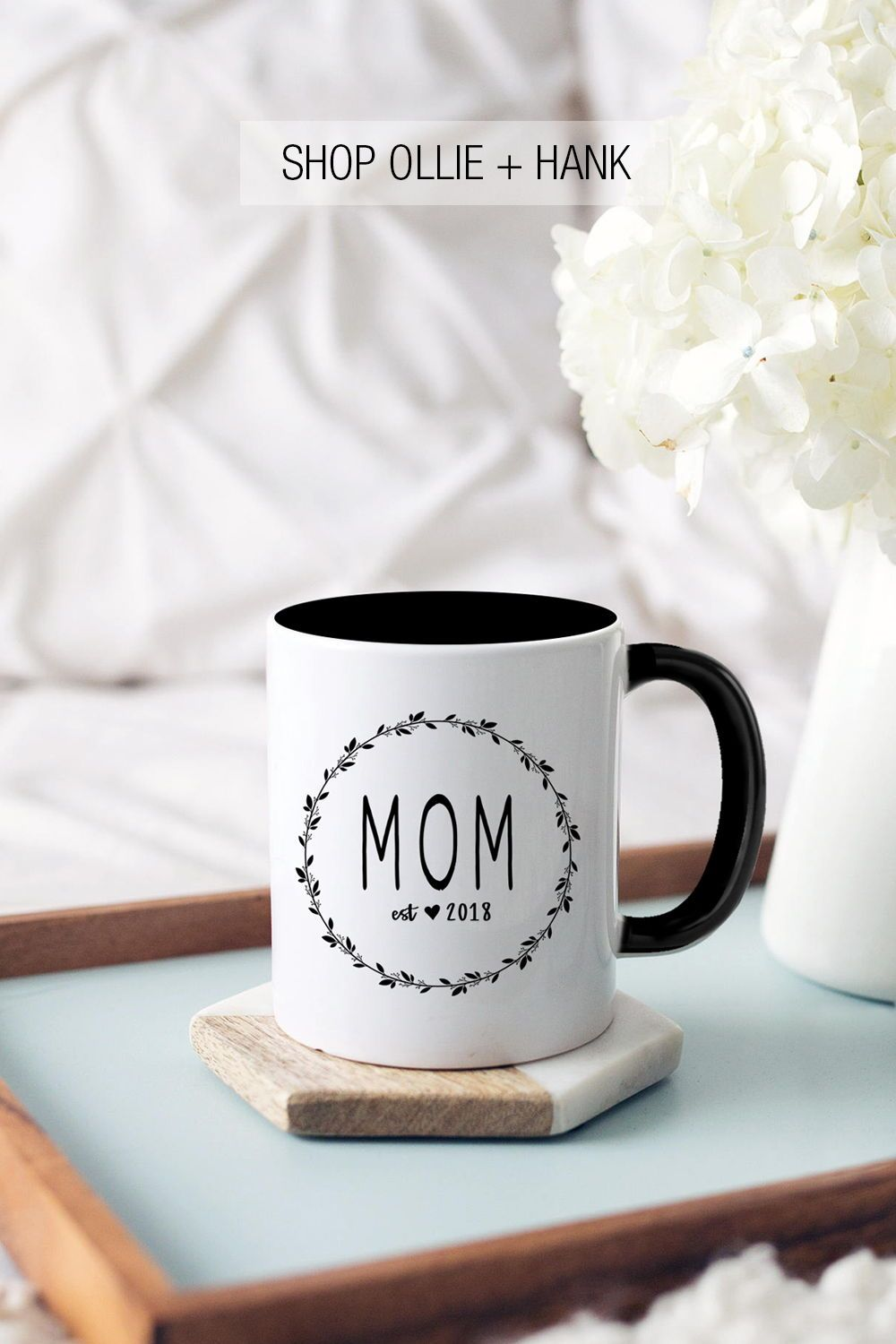 a737a4914d7 New Mom Gift Personalized | Mothers Day Gifts From Daughter | Mom Est Mug |  Mother Day Gifts From Kids For Mom | Pregnancy Announcement Mugs | New Mom  Mug ...