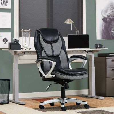 Works Executive Office Chair Opportunity Gray Serta In 2020