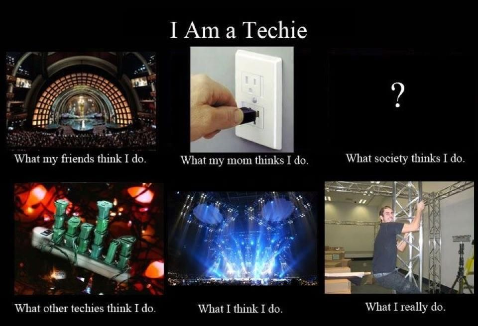 Tech life Theatre quotes, Theatre geek, Theatre problems