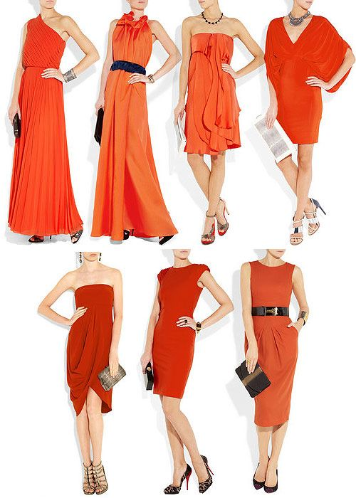 512df016c Tendencias de fiesta: Otoño en naranja | Styles / Fashion / Moda ...