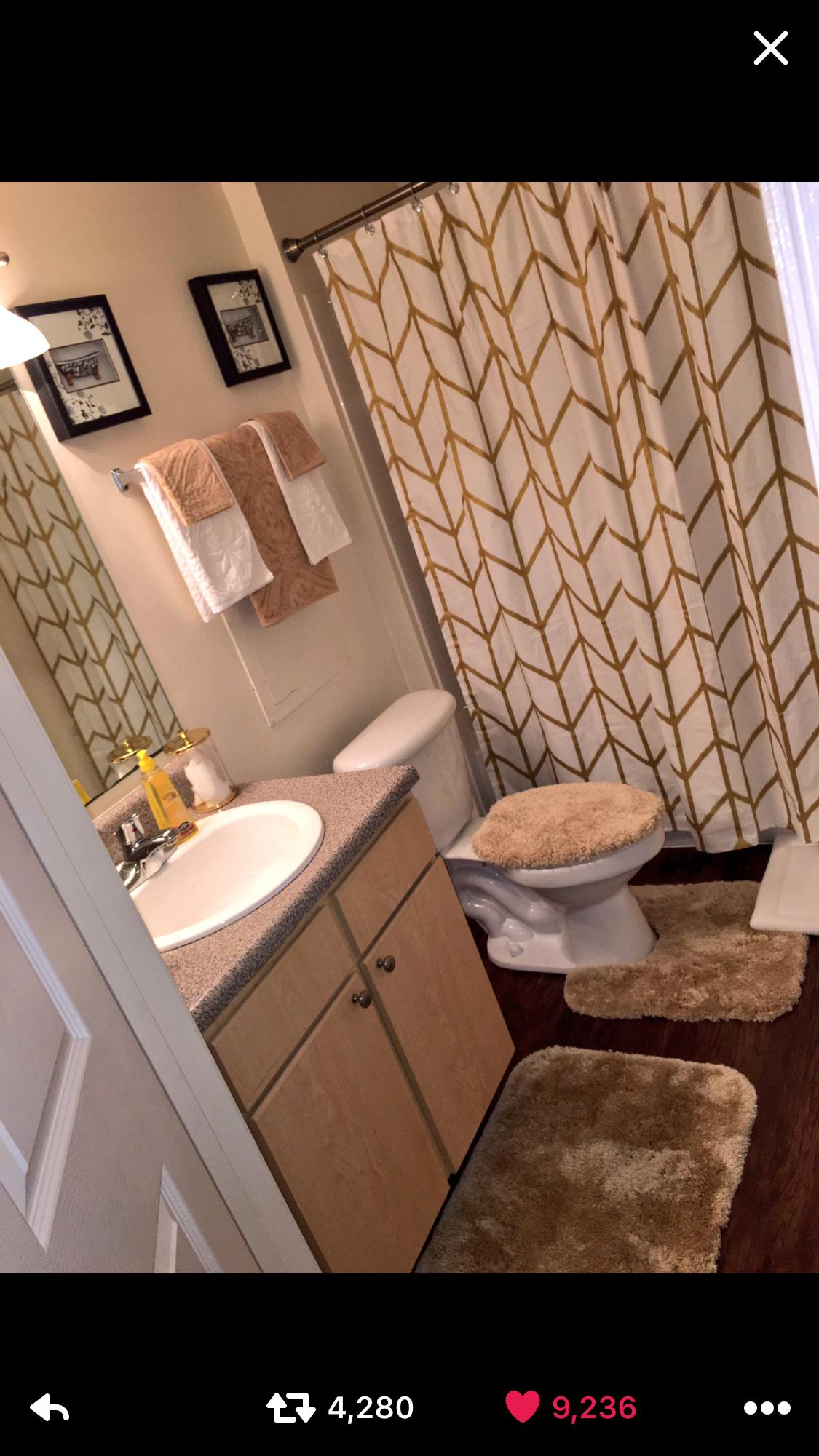 Snapchat Ogg Madieee Pinterest Goldeinee Bathroom Decor Apartment Bathroom Decor Themes Restroom Decor