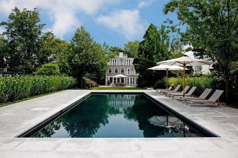 The Swimming Pool At This Martha S Vineyard Estate