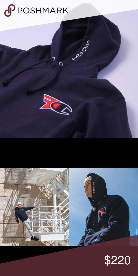 faze x champion hoodie