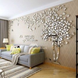 Attractive Living Room Wall Decor Ideas To Copy Asap47 Acrylic Wall Decor Wall Decor Living Room Room Wall Decor