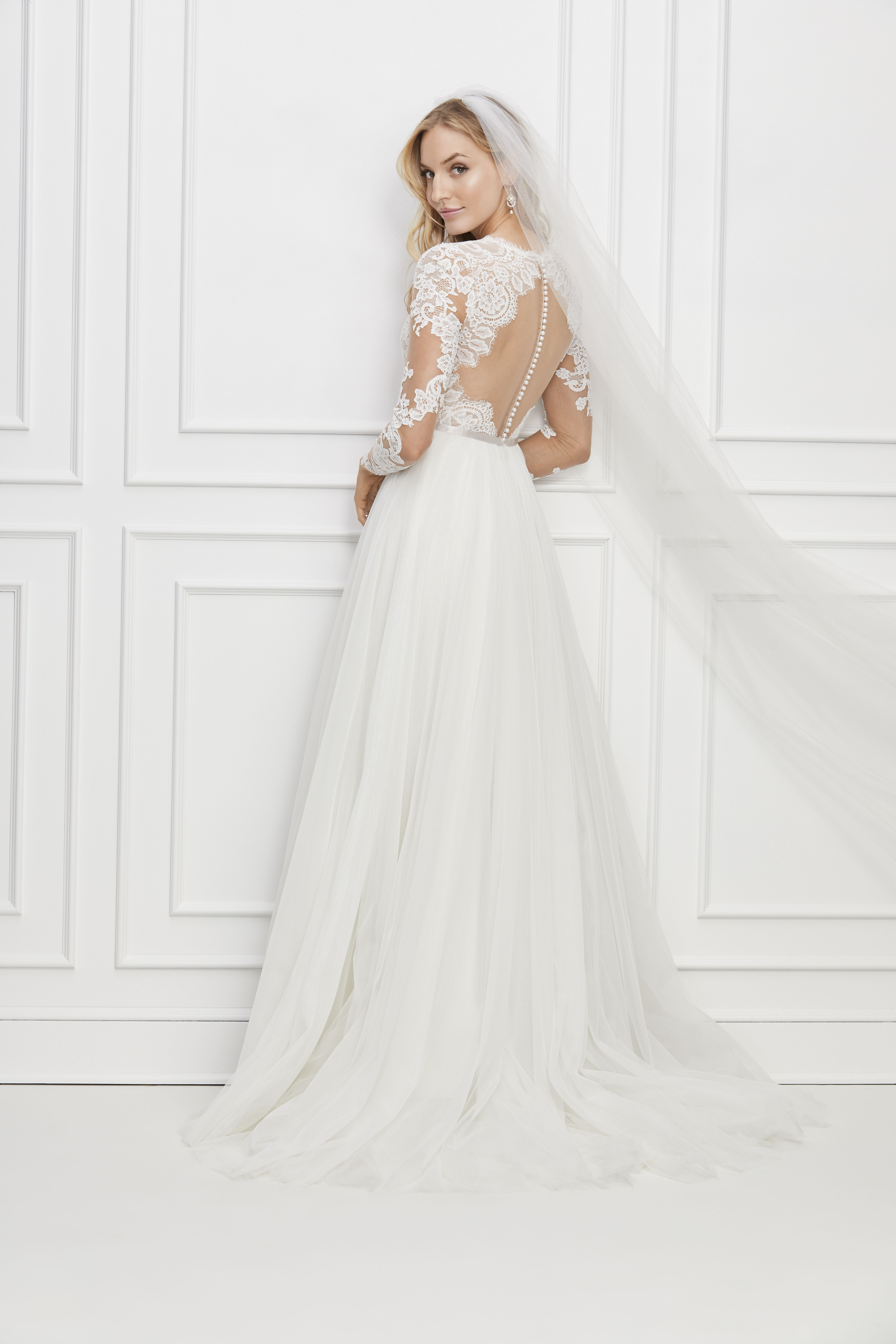 Wtoo By Watters Camden Wtoo Wedding Dress Wedding Dress Long Sleeve Wedding Dresses