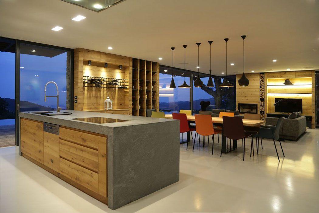 Maison Plain Pied Moderne Interieur