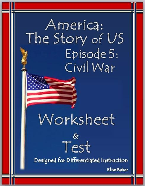America The Story Of Us Episode 5 Quiz And Worksheet Civil War Era
