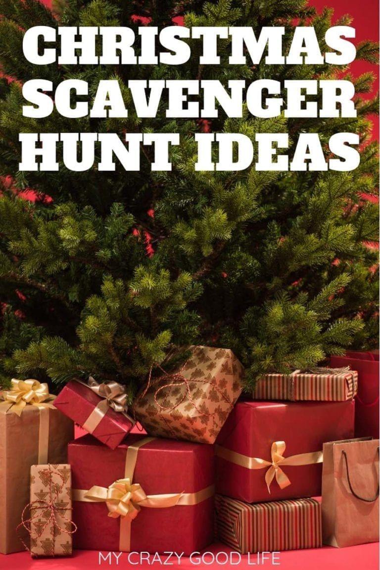 Christmas Scavenger Hunt Ideas Christmas scavenger hunt