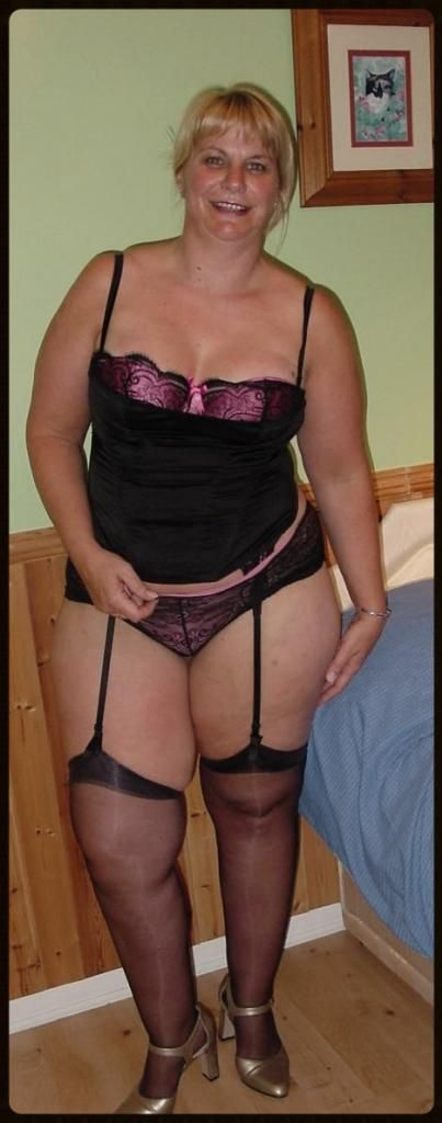 Lingerie mature plus sexy size womens #15
