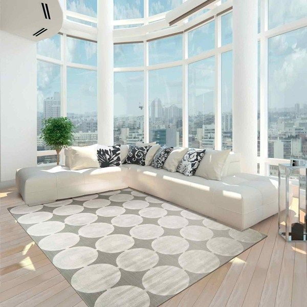 Wonderful Interior Design Ideas 2016 A Big Bright Open Room With A Rug And Sofa
