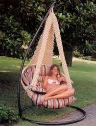 Resultado de imagen para como hacer silla hamaca colgante for Silla hamaca colgante