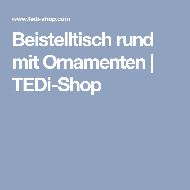 Beistelltisch Rund Mit Ornamenten Tedi Shop Beistelltisch Rund Tedi Shop Beistelltisch
