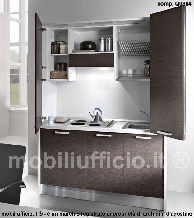 comp. Q0884 #armadio #cucina #monoblocco con ante frontali ...