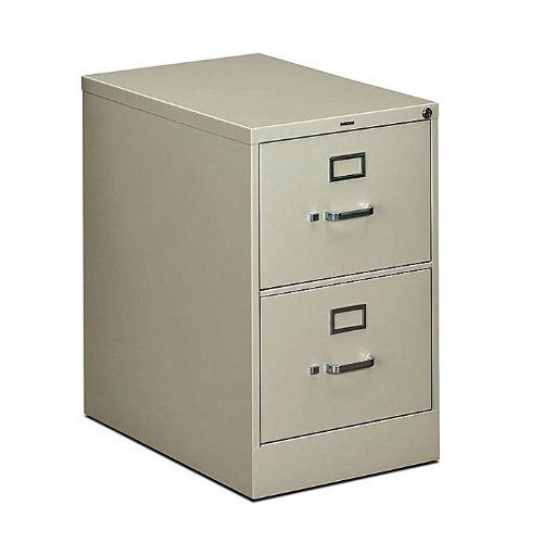 2612d 2 Drawer Legal File Cabinet With Lock By Hon 26368 Home