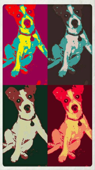 I wish I could print this pic I did of my dog. I love it:)
