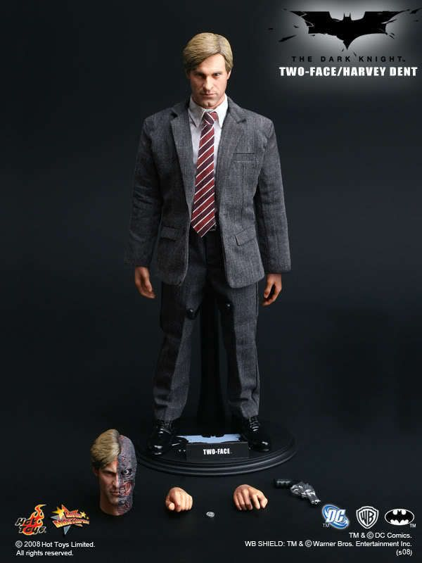 1/6 scale Hot Toys Two Face Harvey Dent MMS81 Movie Action Figure #HotToys