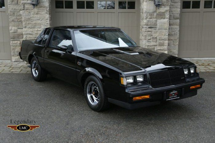 1987 Buick Grand National For Sale 1797668 Classic 1987 Buick