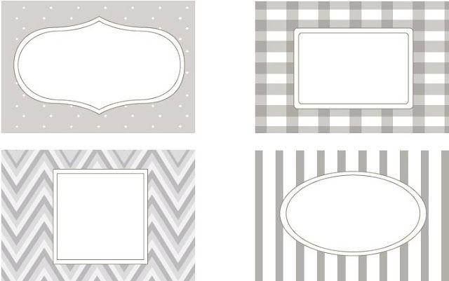 Imprimibles by Srta Edwina #7: Etiquetas para la cocina | Fuxia Atelier