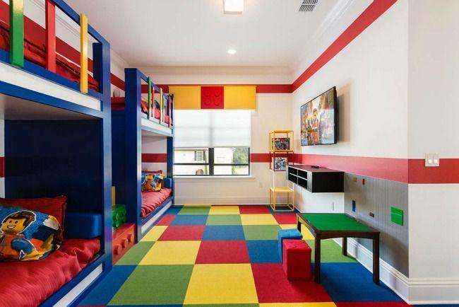 Habitacion compartida lego m s habitaciones infantiles tem ticas - Habitaciones infantiles tematicas ...
