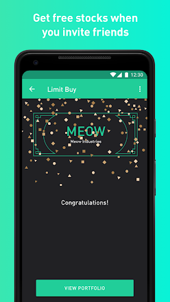 I won a free Facebook stock from the Robinhood app! Try it
