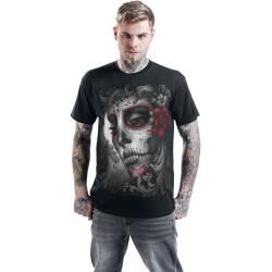 Photo of Spiral Skull Roses T-Shirt Spiral Direct