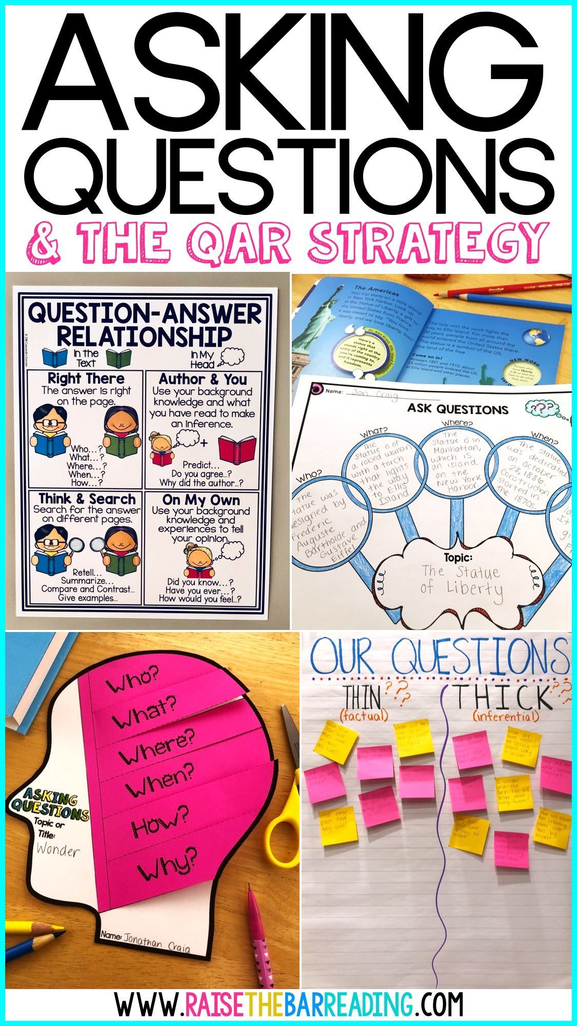 Teaching Reading Comprehension Strategies Asking