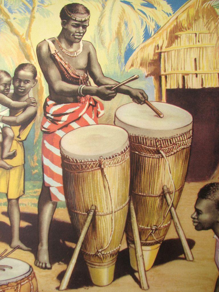 Drumbeat Original drawing