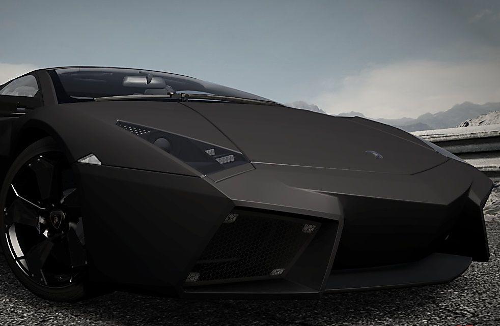 Matte Black Lamborghini Reventon Carflash Cars Cars Motorcycles