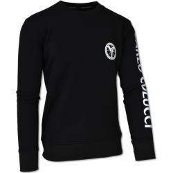 Photo of Cotton fleece sweatshirt in black Carlo Colucci