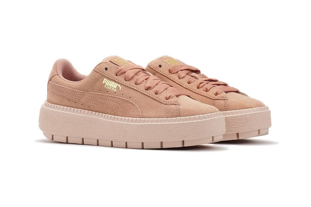 PUMA Drops the Suede Platform Trace in