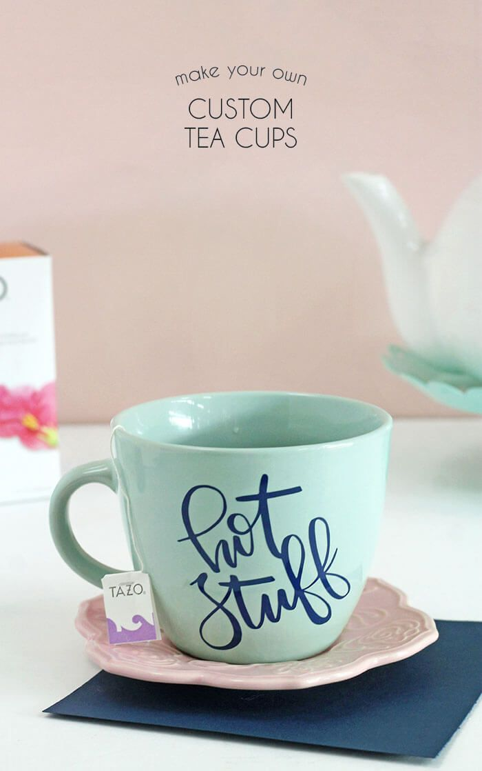 Diy Personalized Mugs And Tea Cups