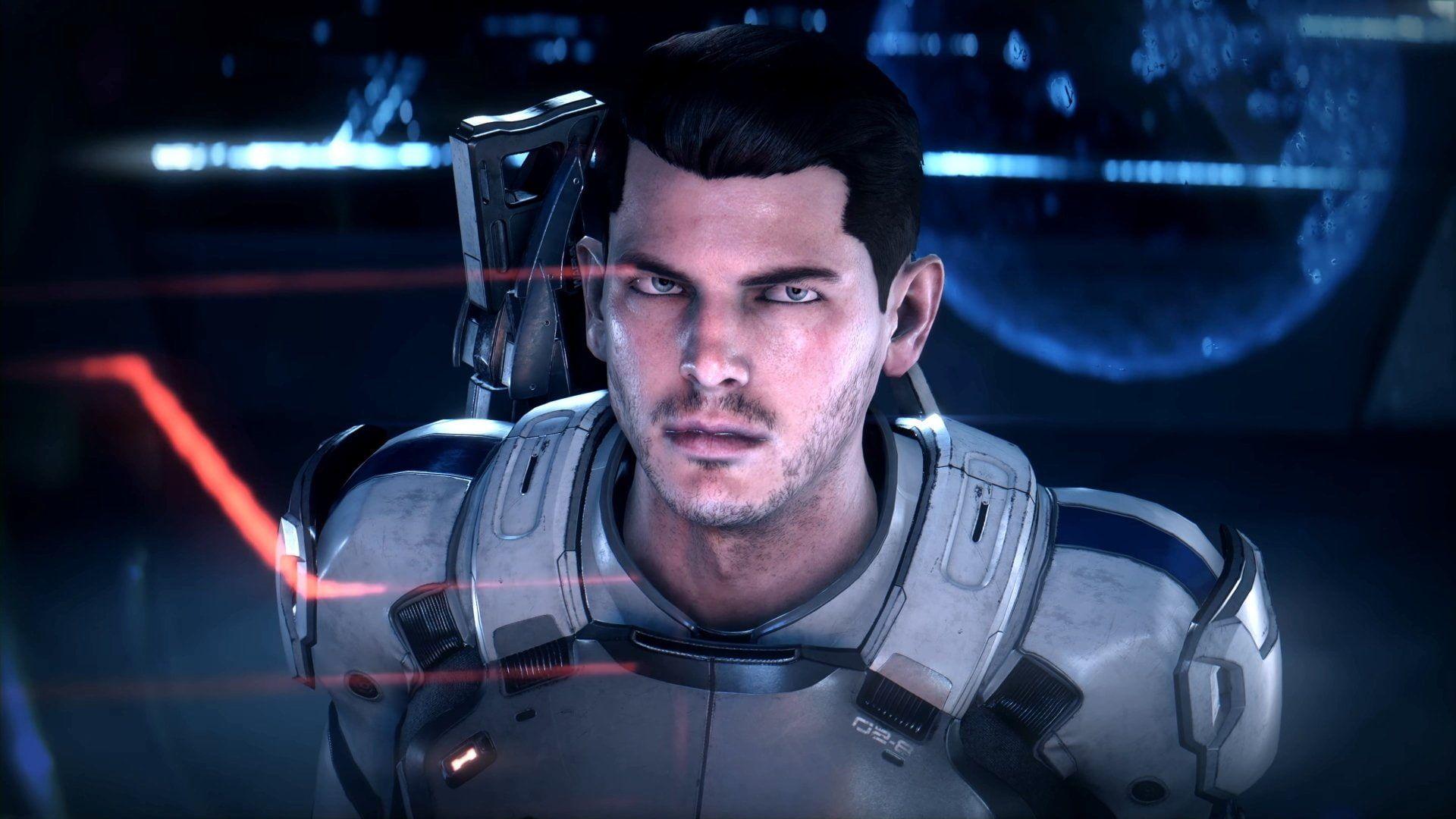 Mass Effect Mass Effect Andromeda Scott Ryder 1080p Wallpaper Hdwallpaper Desktop Unterwegs Like4like