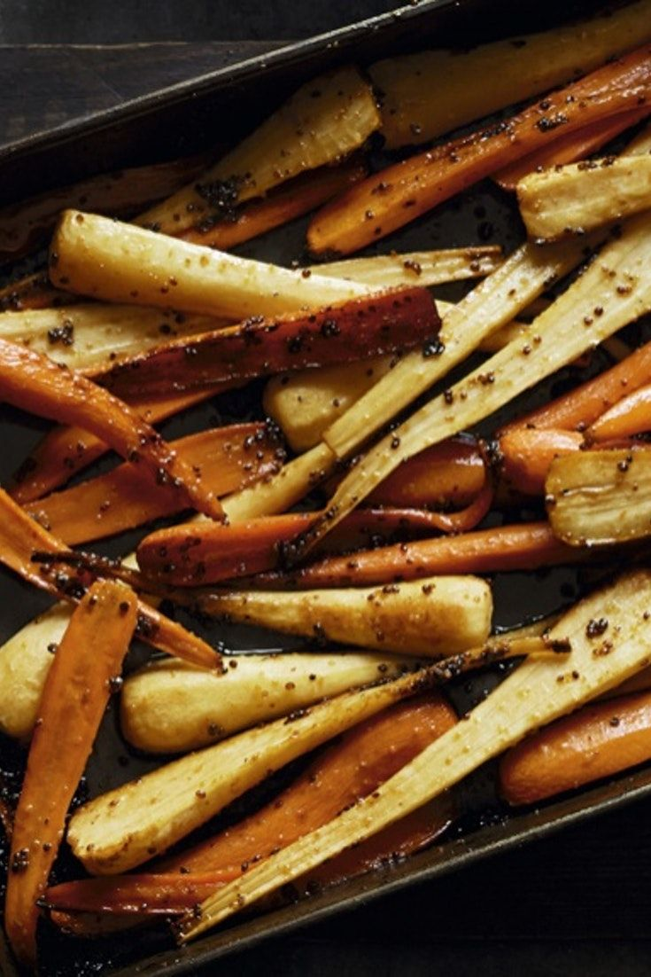 maple roast parsnips and carrots recipe yummy pinterest christmas side dishes christmas side and carrots - Christmas Side Dishes Pinterest