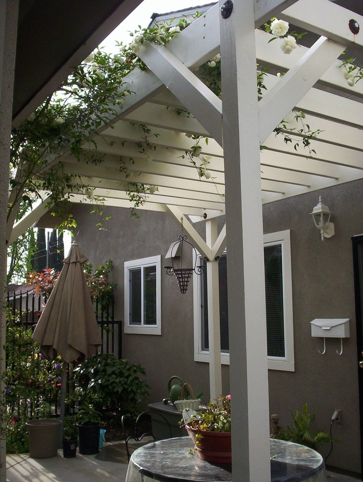 Would love to put an arbor over my small back patio ... on My Patio Design id=16549