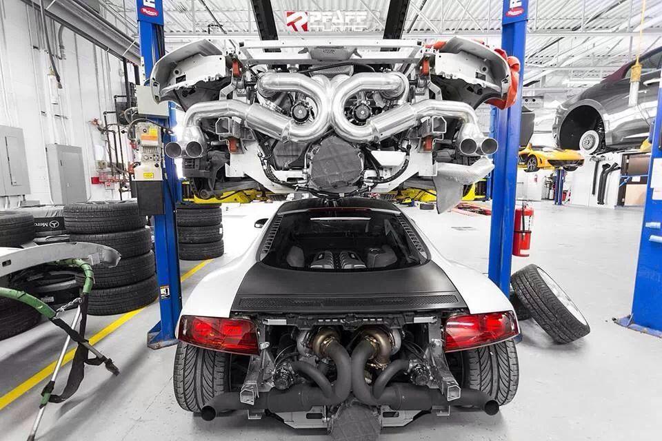 Lamborghini Gallardo Twin Turbo